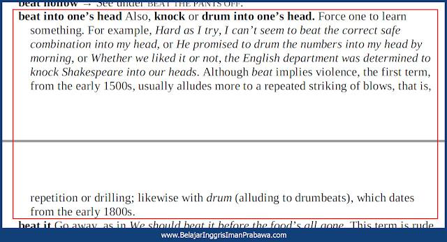Arti Drum Into One's Head