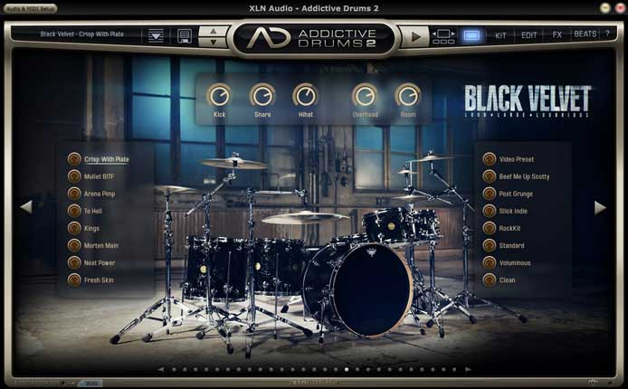 XLN Audio Addictive Drums 2 2.0 7