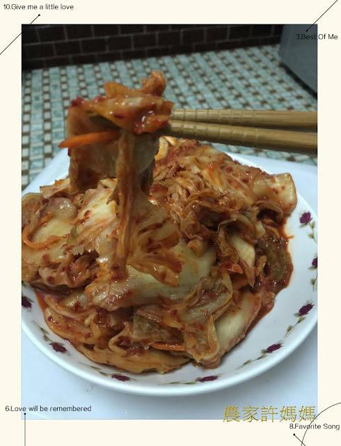 吸附滿滿湯汁der韓式泡菜