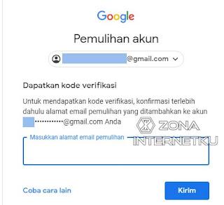 Cara Memulihkan Akun Gmail Yang Lupa Password Dengan Email Pemulihan