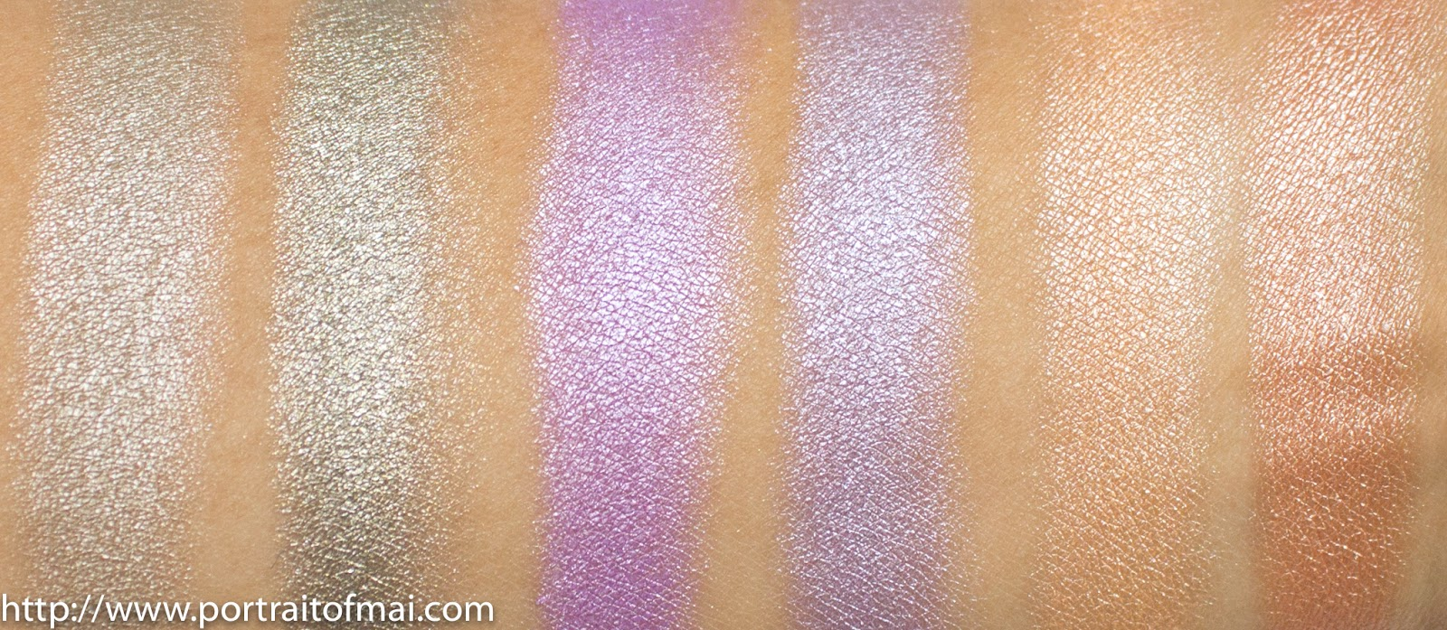 BH Foil Eyes vs. Makeup Geek Foiled Eyeshadows