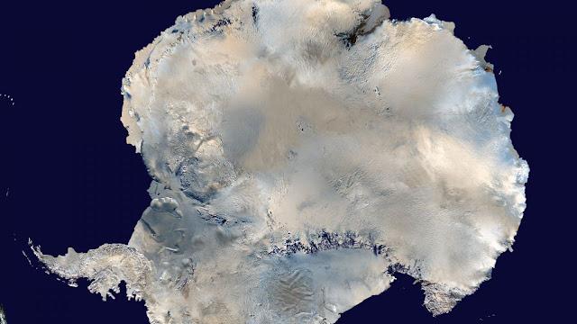 benua antartika tidak pernah hujan