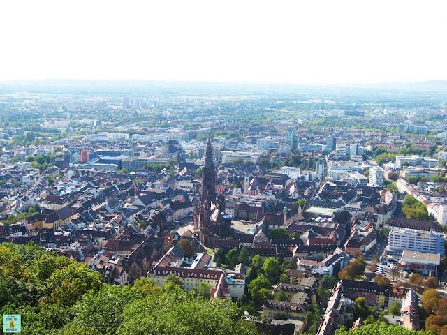 Vista de Friburgo desde la Torre de Scholssberg