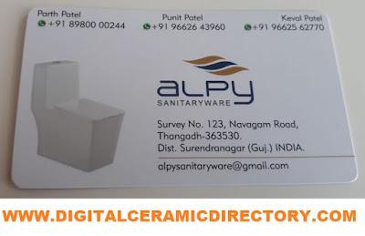 ALPY SANITARYWARE - 9662643960