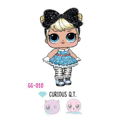 L.O.L. Curious Q.T. Glam Glitter 2018