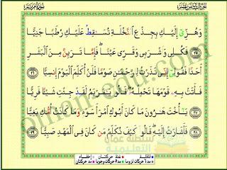 سورة مريم 3 ( الآيات 19-29 ) للصف السابع الفصل الأول