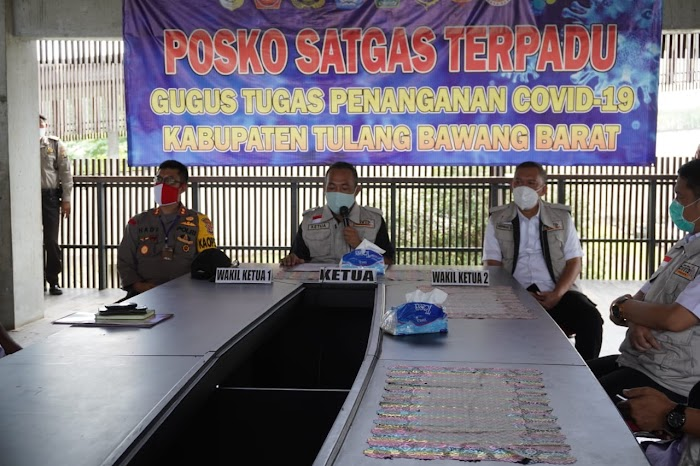 Abdul Hamid Warga Tubaba Fositif Corona Dinyatakan Sembuh