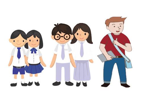 murid dan mahasiswa