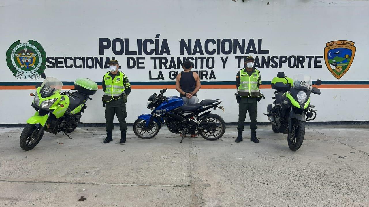 https://www.notasrosas.com/En Riohacha: capturado un hombre, por Violencia Contra Servidor Público
