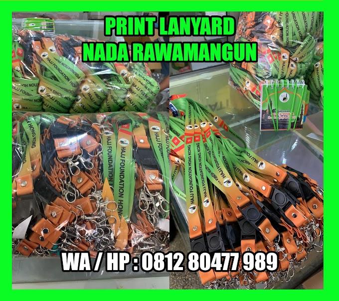 Jasa Buat Tali Lanyard dan ID Card serta  Buku Doa Manasik Umroh Layanan 24 Jam di Jakarta Timur Rawamangun