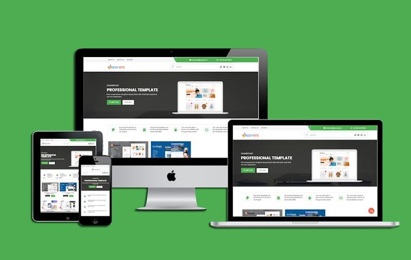 Goomsite Izzan Nabil AMP HTML Responsive Blogger Template - Responsive Blogger Template
