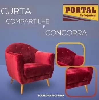 Promoção Portal Estofados 2019 Concorra Poltrona