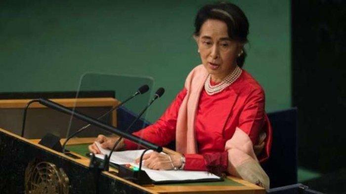 Aung San Suu Kyi Akhirnya Buka Suara, Berjanji Lindungi Semua Orang Dari Konflik Pemberontak Rakhine dan Militer Myanmar