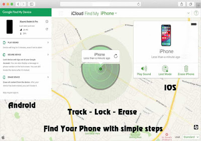 How to track a stole phone, track a lost phone