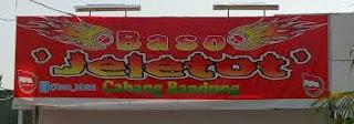 Bakso Hot Jeletot Super Pedas Khas Bandung