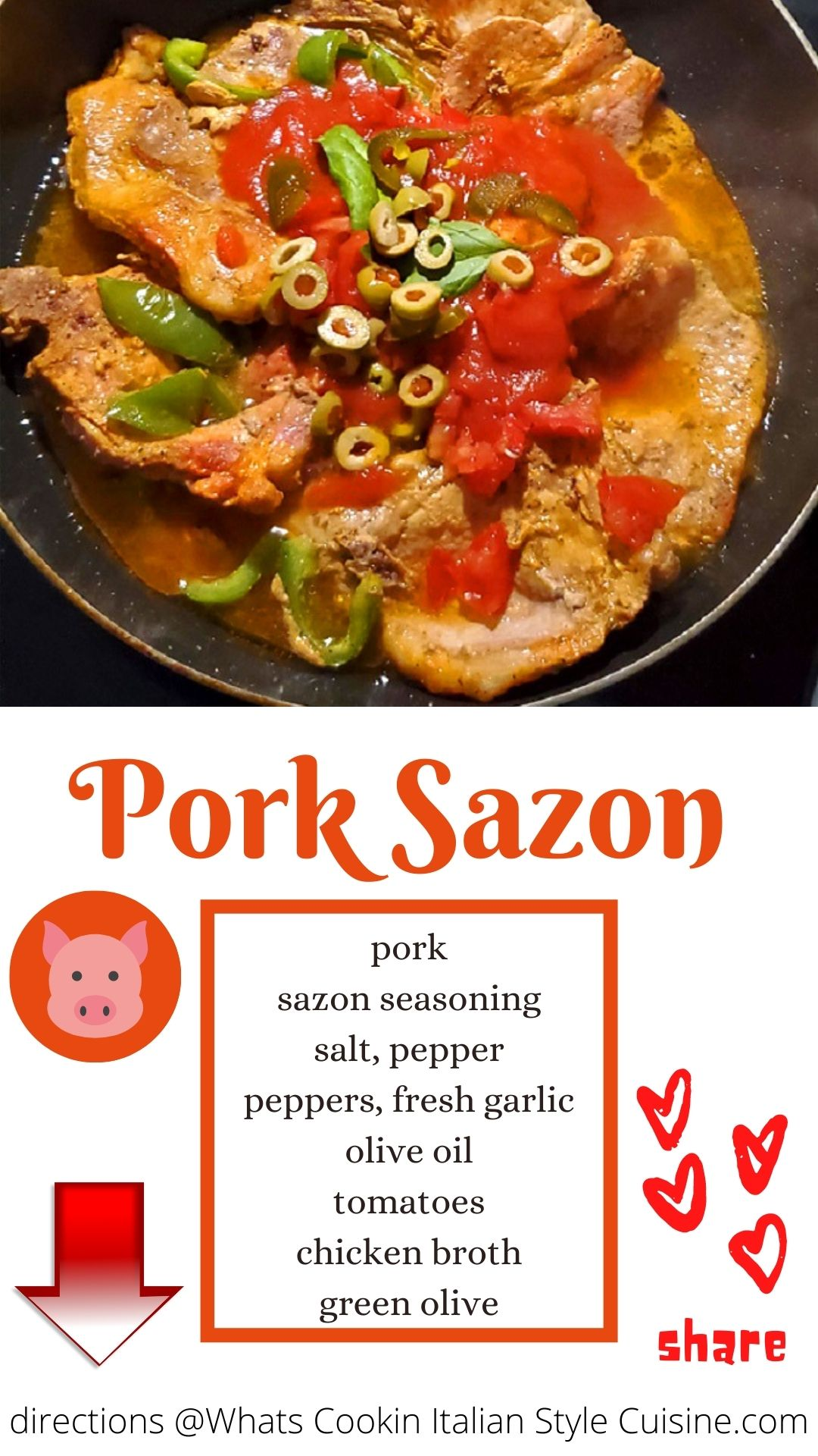 this is a pin for later pork sazon