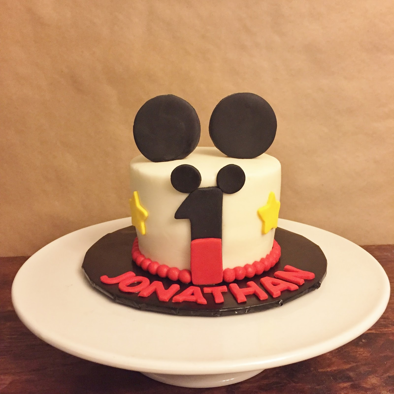 Cakes By Mindy Mickey Mouse Smash Cake 4 Quot