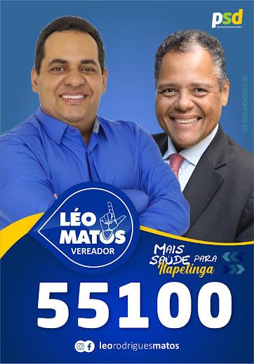 Com o apoio de Antonio Brito, Dr.  Léo Matos   segue firme com nome forte a câmara dos vereadores