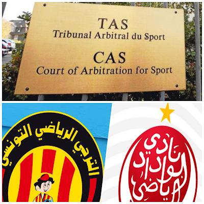 حقيقة القرار النهائي للطاس في نهائي دوري أبطال أفريقيا الذي جمع بين الترجي الرياضي التونسي والوداد البيضاوي المغربي