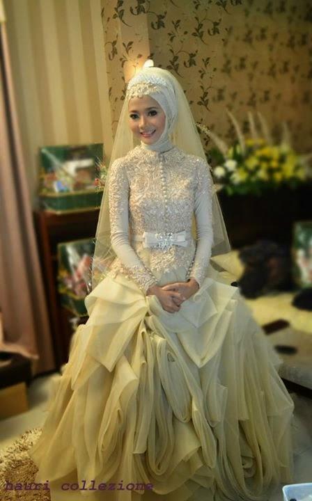 Kebaya Modern Muslim Marriage