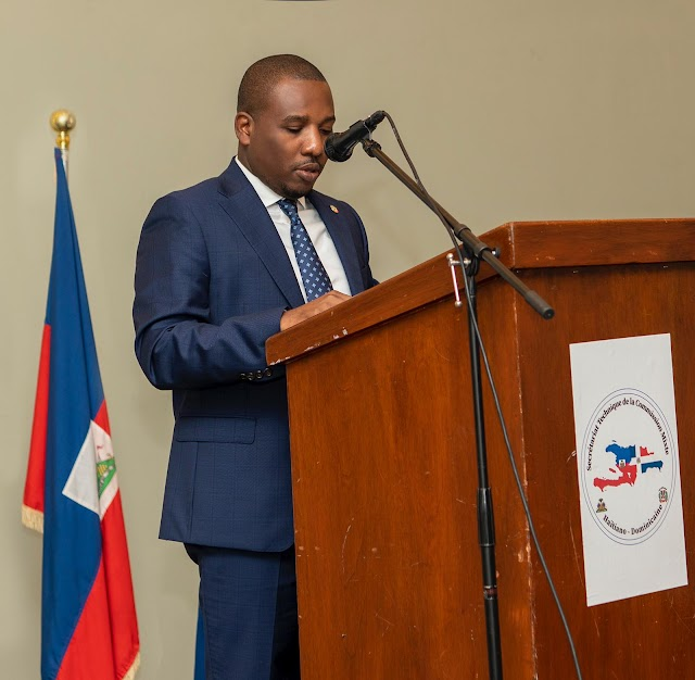 Canciller de Haití Claude Joseph afirma la migración y el comercio son temas primordiales  en las relaciones con la República Dominicana