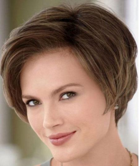Model Rambut Wanita Cantik Trendy Cetar Membahana - Gaya rambut pendek elegan