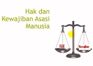 Hak dan Kewajiban Asasi Manusia: Pengertian, Persamaan dan Perbedaan