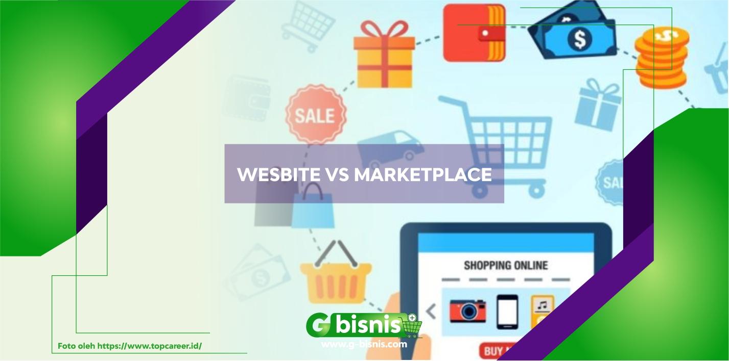 Mana yang Lebih Untung? Berjualan Online di Website Sendiri Atau Marketplace