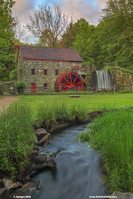 Spring Sudbury Grist Mill