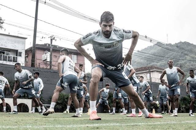 LIBERTADORES: Ainda sem saber se jogará em Brasília contra o San Lorenzo, Santos realiza intertemporada em Atiabaia.