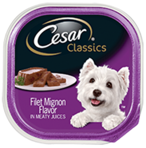 Mars Cesar Classics Filet Mignon dog food recall