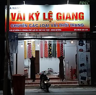 Khai Trương Cửa Hàng Vải Ký Lệ Giang tại 59 Lê Hồng Phong - 22/03/2021