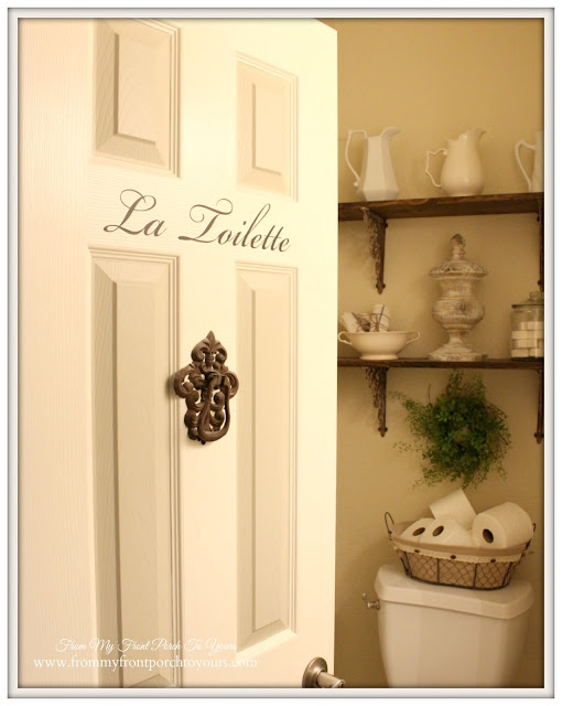 Half bathroom-farmhouse-Farmhouse Style-From My Front Porch To Yours
