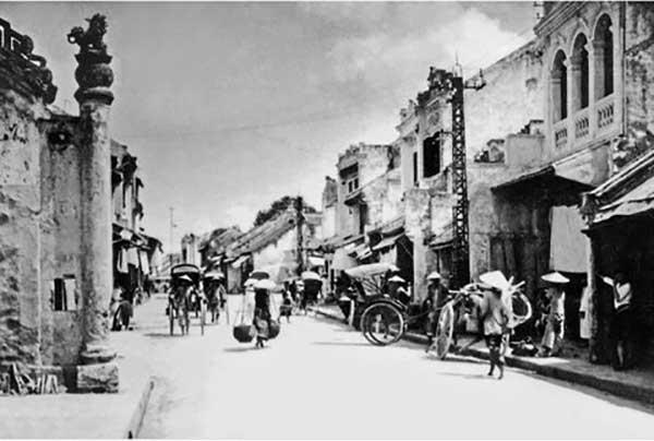 Hà Nội xưa - phố Hàng Bạc