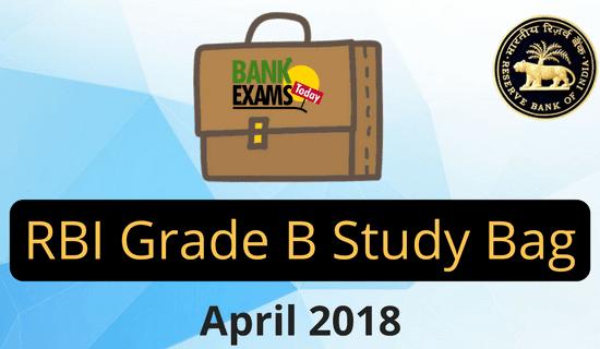 rbi grade b study material