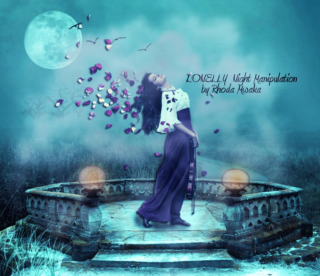 Adobe Photoshop Tutorials : Midnight Music Manipulation
