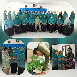 Tim Penggerak PKK Kabupaten Lingga Bagikan bibit cabe rawit varietas unggul di beberapa kecamatan