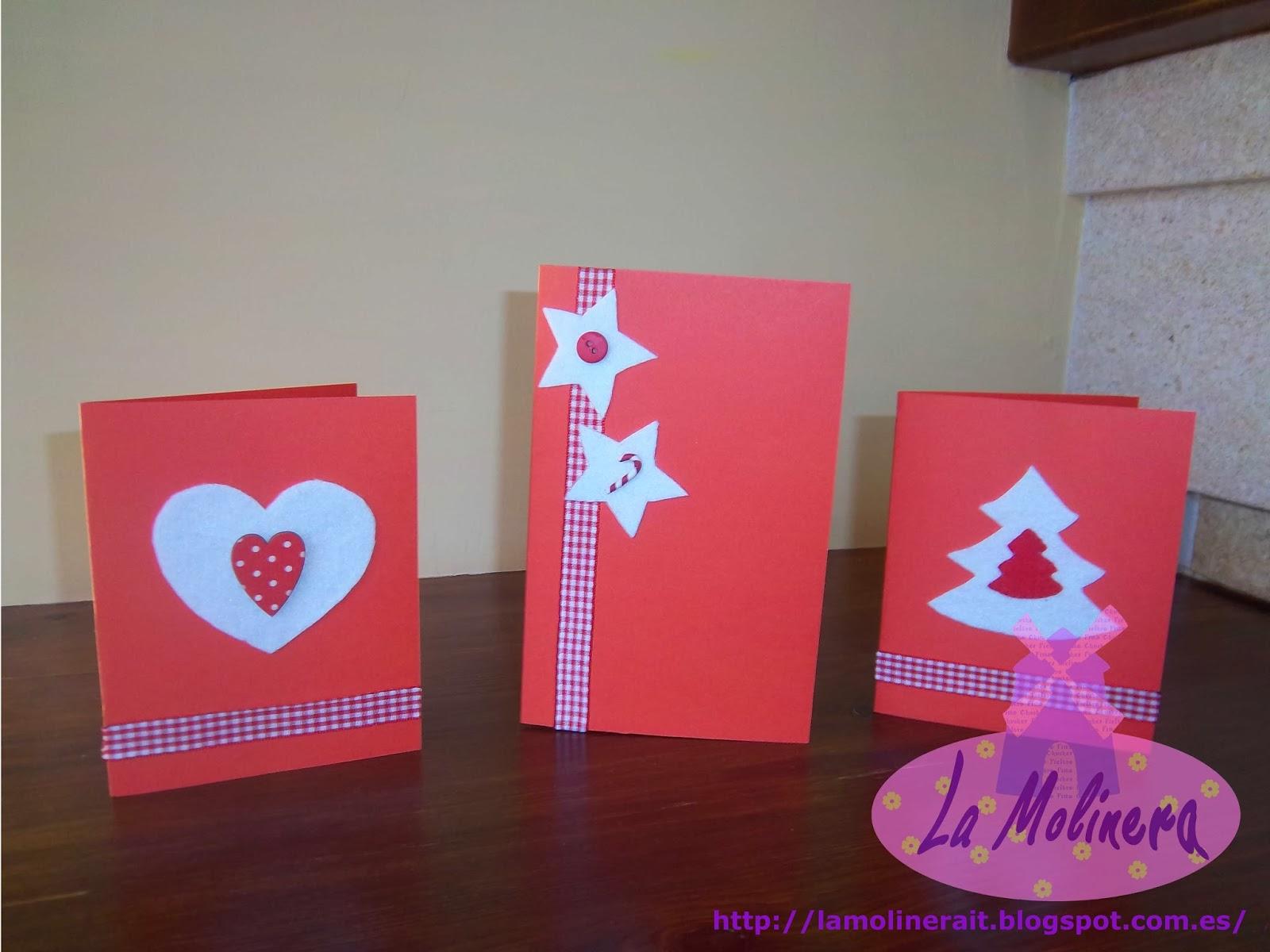 Amato La Molinera: Biglietti di auguri natalizi HU43