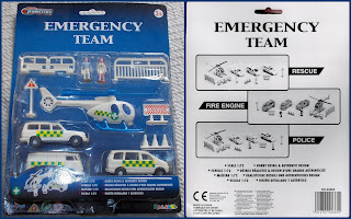 1:72; 1:72nd Scale; Carded Set; Emergency Team; Halsall Haswell Toys; Helicopter Toy; HTI Toys; Kentoys; Kentoys Wheelers; Medics; No.40665; Play Set; Play-Set; Playset; Small Scale World; smallscaleworld.blogspot.com; Teamsters; Time 4 Toys; Time4Toys; Toys; Wheelers;
