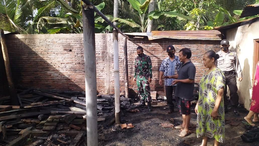 Bakar Sampah, Rumah Warga Prembun Nyaris Ludes Terbakar