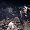 Kebakaran di Air Hitam, Lukman beserta anak dan istrinya tewas terbakar