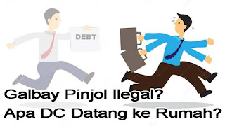 Apa DC Pinjol Ilegal Datang ke Rumah