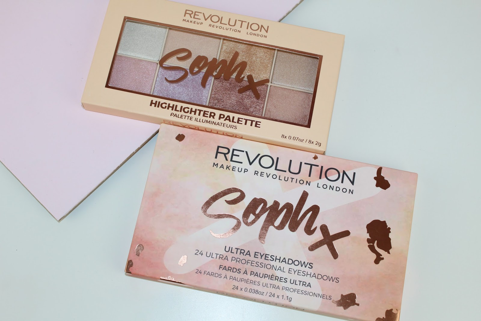 Makeup Revolution Soph X Palette Review, Swatches and Photos