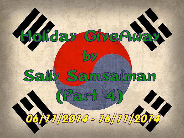 Holiday GiveAway by Sally Samsaiman (Part 4)