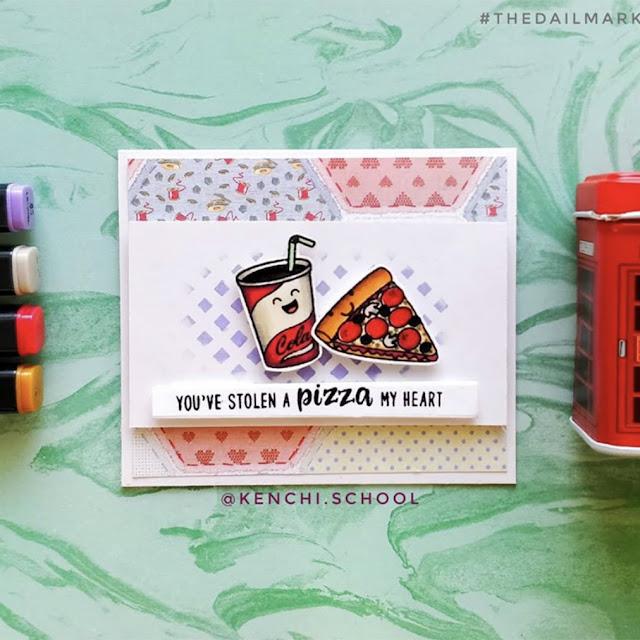 Sunny Studio Stamps: Fast Food Fun Customer Card by Archisha