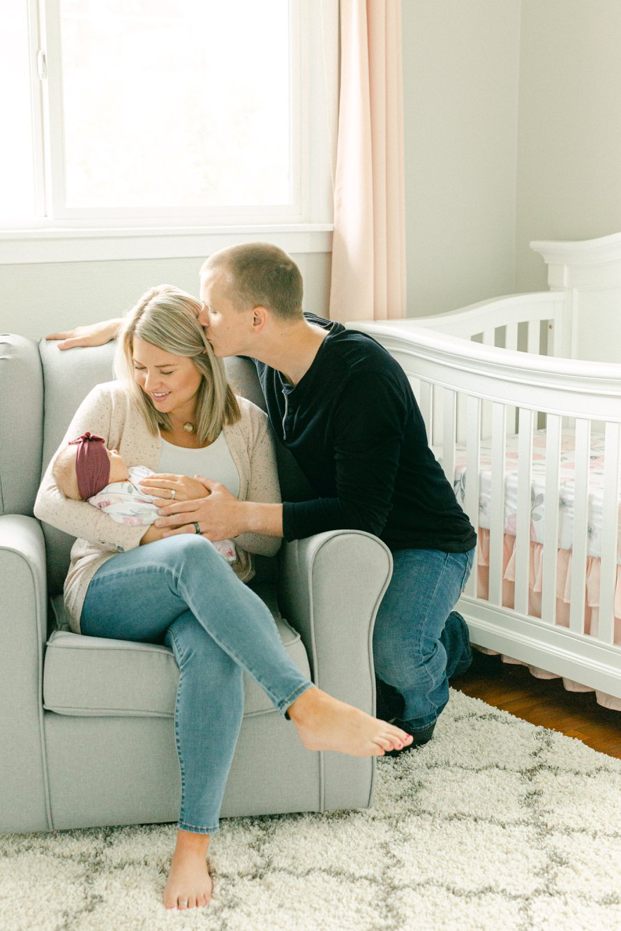 Newborn Lifestyle Photography-Pacific Northwest Photographers-Something Minted Photography-Something More Photography