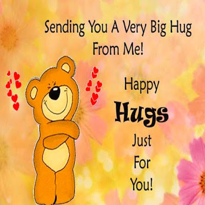 happy Hug Day For Friends