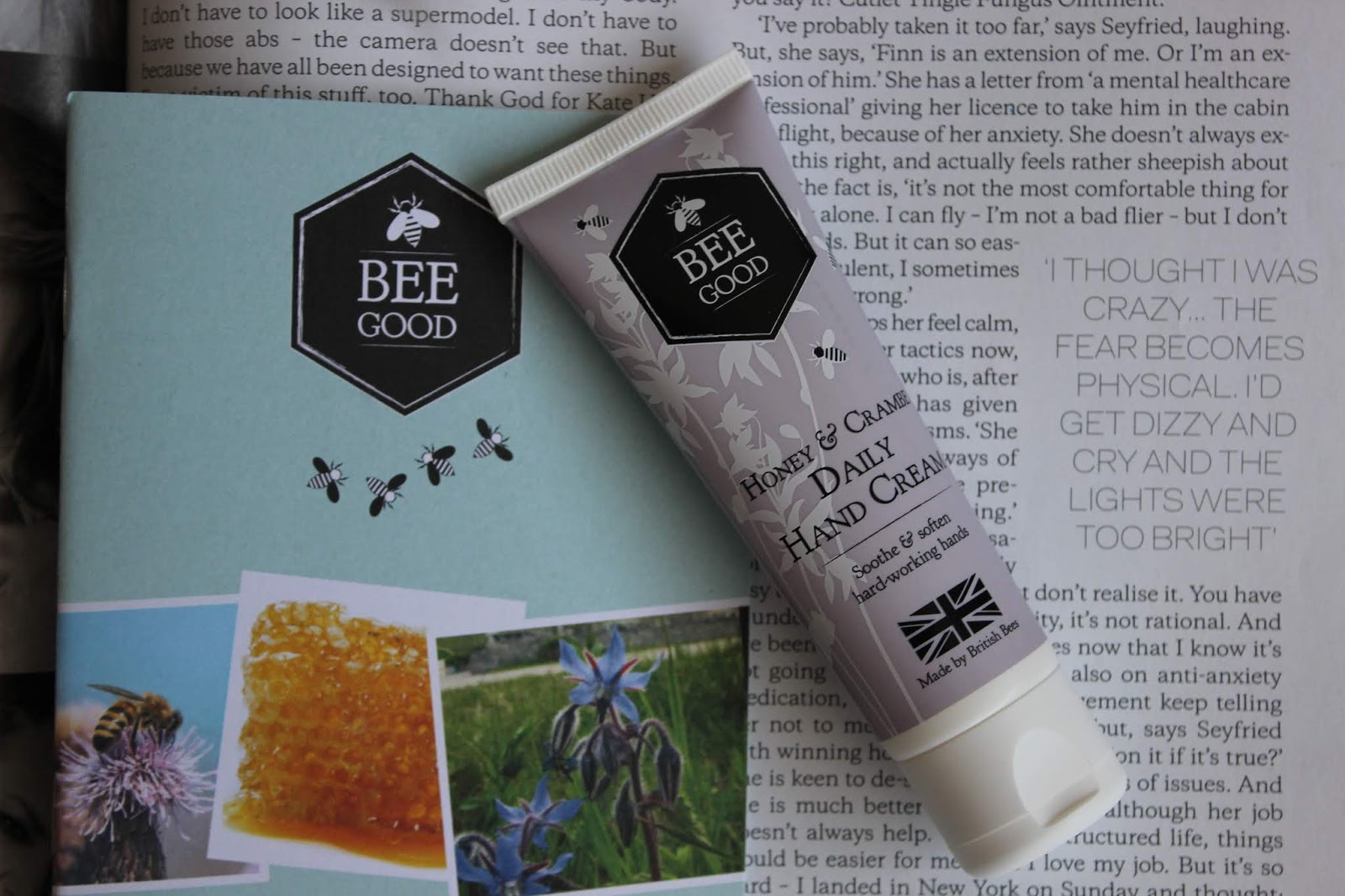 Bee Good to Try Hands Hand Cream