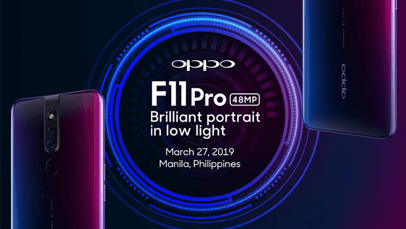 F11 Pro launch date!