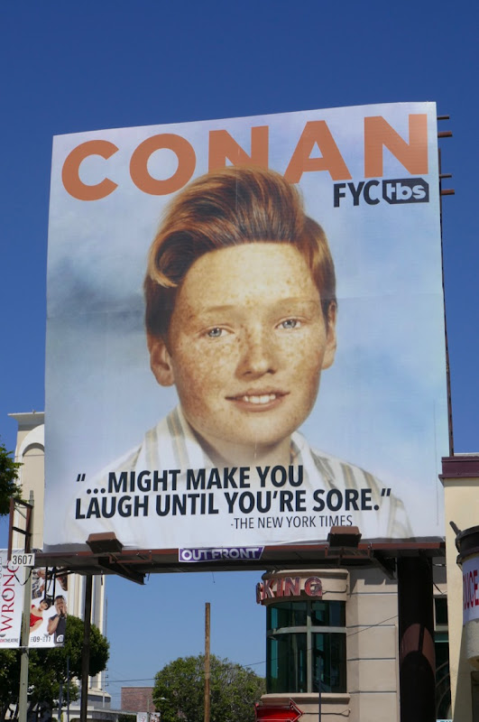 Conan 2019 Emmy consideration billboard